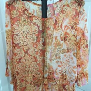 Coldwater Creek Women's Blouse, Petite, Size Large
